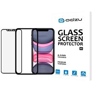 Odzu Glass Screen Protector E2E Kit iPhone 11/XR - Képernyővédő