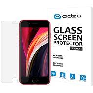 Odzu Glass Screen Protector 2pcs iPhone SE 2020 - Képernyővédő