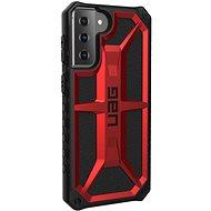 Mobiltelefon hátlap UAG Monarch Crimson Red Samsung Galaxy S21 + - Kryt na mobil