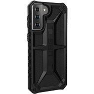 Mobiltelefon hátlap UAG Monarch Black Samsung Galaxy S21+ - Kryt na mobil