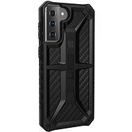 Mobiltelefon hátlap UAG Monarch Carbon Samsung Galaxy S21+ - Kryt na mobil