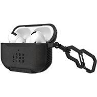 UAG Metropolis Case LTHR fekete Apple AirPods Pro - Fülhallgató tok