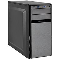 SilverStone PS11B-G Precision Fekete - Számítógép ház