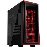 SilverStone Redline RL06BR-GP fekete és piros - Számítógép ház