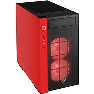 SilverStone Redline RL08 RGB - piros - Számítógépház