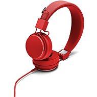 Urbanears Plattan II piros - Mikrofonos fej-/fülhallgató