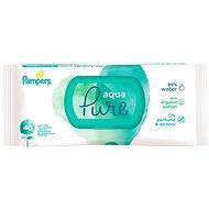 PAMPERS Aqua Pure nedves törlőkendők 48 db - Baba törlőkendő