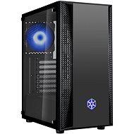 SilverStone FARA B1 RGB fekete - Számítógépház