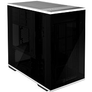 SilverStone Lucid LD01 fekete - Számítógépház