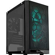 SilverStone Precision PS15B RGB fekete - Számítógépház