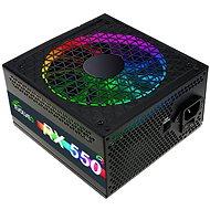 EVOLVEO RX 550 RGB LED 80Plus 550W - PC tápegység