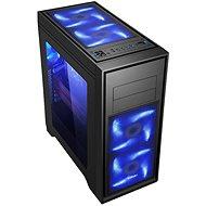 EVOLVEO T4 fekete - Számítógép ház