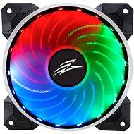 EVOLVEO 12R1R Rainbow RGB LED 120mm PWM - Számítógép ventilátor