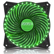 EVOLVEO 12L2GR LED 120mm zöld - Számítógép ventilátor
