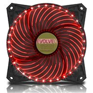 EVOLVEO 12L2RD LED 120mm piros