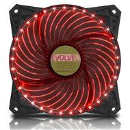 Számítógép ventilátor EVOLVEO 12L2RD LED 120mm piros