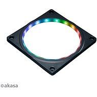 AKASA ARGB LED kiegészítő keret 12 cm-es ventilátorhoz / AK-LD08-RB - LED szalag