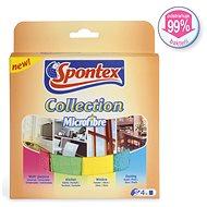 Spontex Collection Microfibre 4 db - Törlőkendő