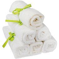 PANDOO bambusz mosdókendő 25 x 25 cm, 6 db-os készlet - Mosdókendő