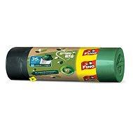 FINO LD Green Life zárható szemeteszsák 35 l, 15 db - Öko szemeteszsák
