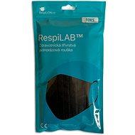 RespiLAB Eldobható orvosi szájmaszk - fekete (10 db) - Szájmaszk