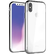 Uniq Glacier Xtreme Hybrid iPhone Xs Max Titanium - Mobiltelefon hátlap
