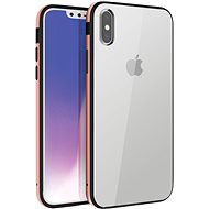 Uniq Valencia Clear Hybrid iPhone Xs Max Blush Gold - Mobiltelefon hátlap