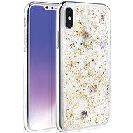 Uniq Lumence Clear Hybrid iPhone Xs Max Champagne - Mobiltelefon hátlap