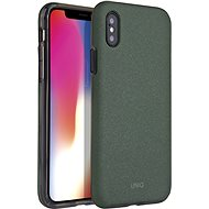Uniq Lithos Hybrid iPhone Xs Max Olive - Mobiltelefon hátlap
