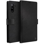 Uniq Journa Heritage Galaxy Note10 Ebene Black - Mobiltelefon tok