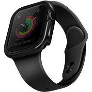 Uniq Valencia tok Apple Watch 44mm okosórához, Blush Gunmetal, szürke - Védőtok