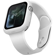 Uniq Lino tok Apple Watch 44mm okosórához, fehér - Védőtok