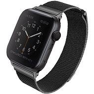 Uniq Dante szíj Apple Watch 40mm okosórához, éjfekete - Szíj