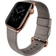 Uniq Mondain szíj Apple Watch 44mm okosórához, homokbézs - Szíj