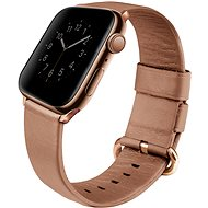 Uniq Mondain szíj Apple Watch 40mm okosórához, korallpiros - Szíj