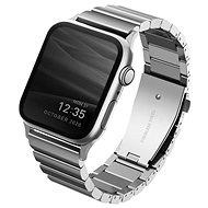 Uniq Strova Apple Watch Acél szíj 44/42mm - Sterling ezüst