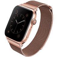 Uniq Dante szíj Apple Watch 40mm okosórához, rózsaarany - Szíj