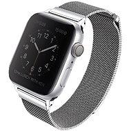 Uniq Dante szíj Apple Watch 44mm okosórához, finom ezüst - Szíj