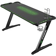 ULTRADESK SPACE XXL GREEN - Gaming asztal