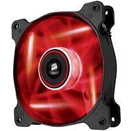 Corsair AF120 Quiet Edition hűtő ventilátor, LED, piros - Ventilátor