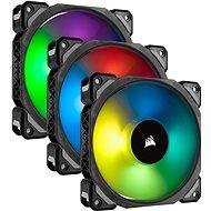 Corsair ML Pro RGB 120 mm Three Fan Kit High Static Pressure PWM - Ventilátor