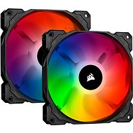 Corsair iCUE SP140 RGB PRO 140 mm RGB LED Fan, Dual Pack with Lighting Node Core - Számítógép ventilátor