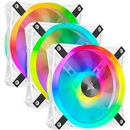 Corsair iCUE QL120 RGB 120mm White Triple Fan Kit - Számítógép ventilátor
