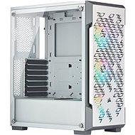 Corsair iCUE 220T RGB Tempered Glass fehér színű - Számítógépház