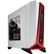 Corsair SPEC-ALPHA Carbide Series - piros-fehér - Számítógép ház