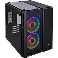 Corsair Crystal Series 280X RGB Tempered Glass fekete - Számítógép ház