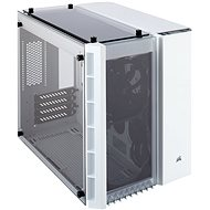 Corsair Crystal Series 280X Tempered Glass fehér színű - Számítógépház