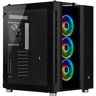 Corsair Crystal Series 680X edzett üveg RGB fekete - Számítógép ház