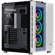 Corsair Crystal Series 680X edzett üveg RGB fehér - Számítógép ház