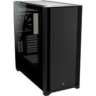 Corsair 5000D Tempered Glass Black - Számítógépház